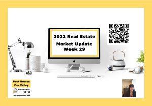 2021 Real Estate market update week 29 Cover